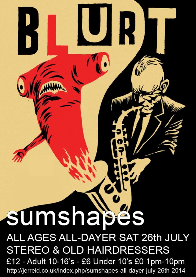 sumshapes All-Dayer – July 26th 2014